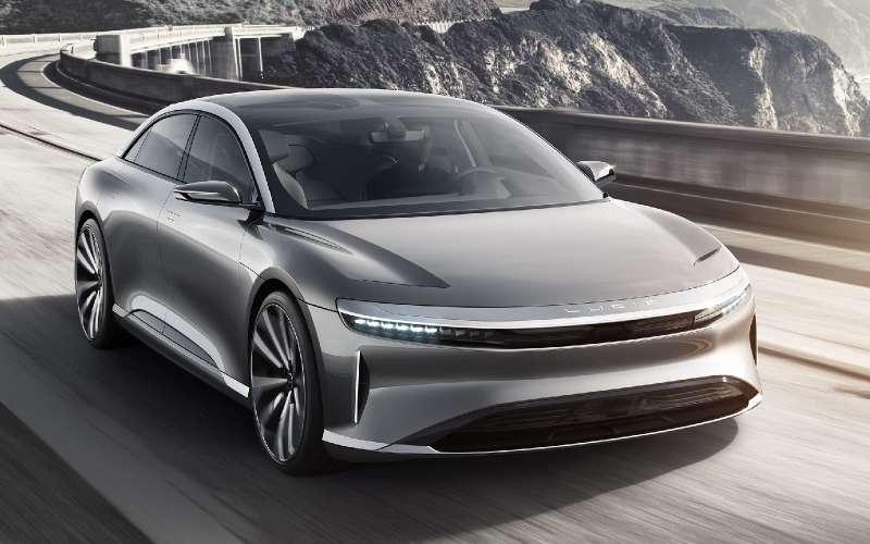 Lucid Motors раскрыла внешность 1000-сильного электроседана
