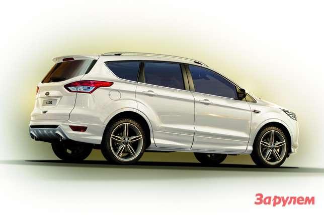 ford kuga titanium xsport announced 1