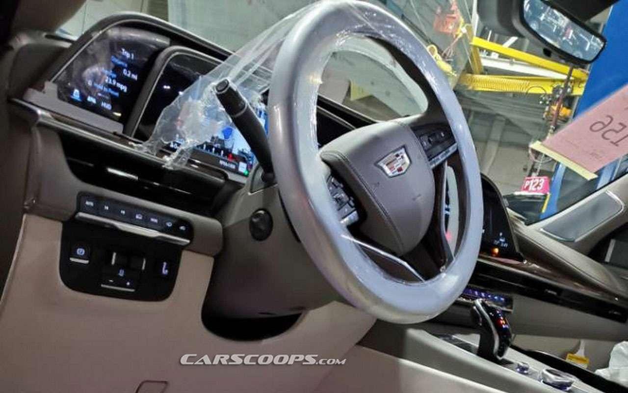 Новый Cadillac Escalade— первые фото сзавода— фото 1021637