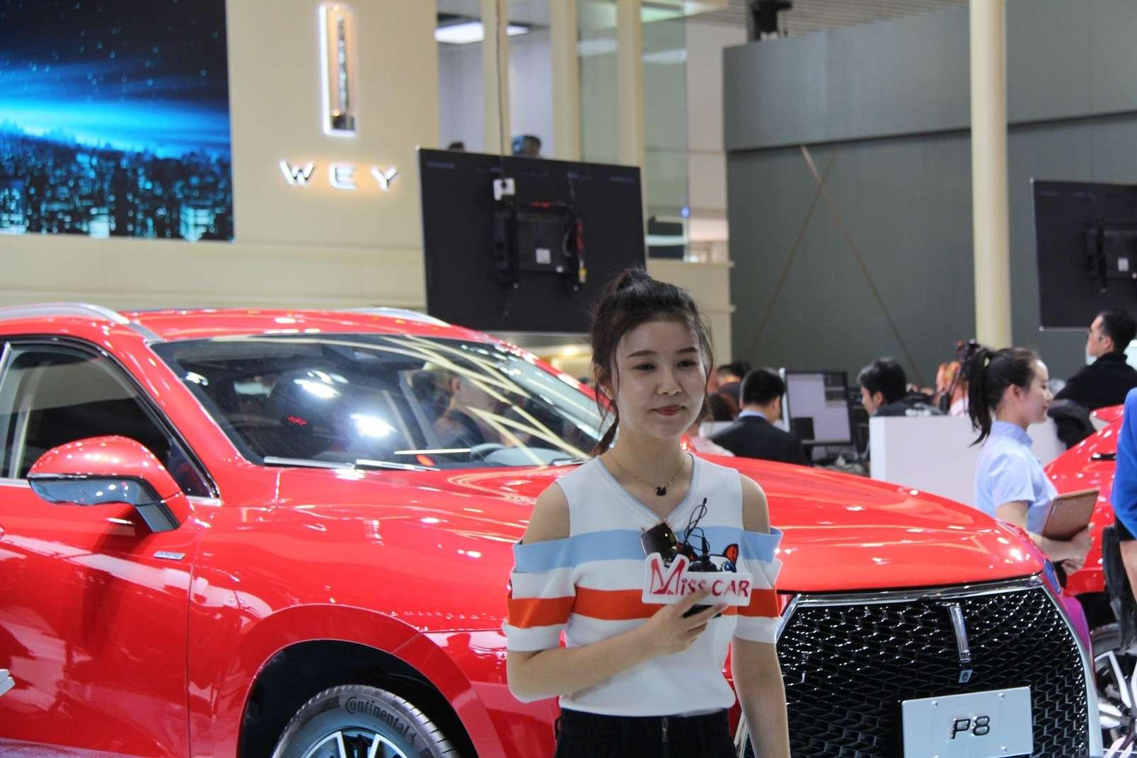 Девушки Пекинского автосалона— 2018— фото 865592