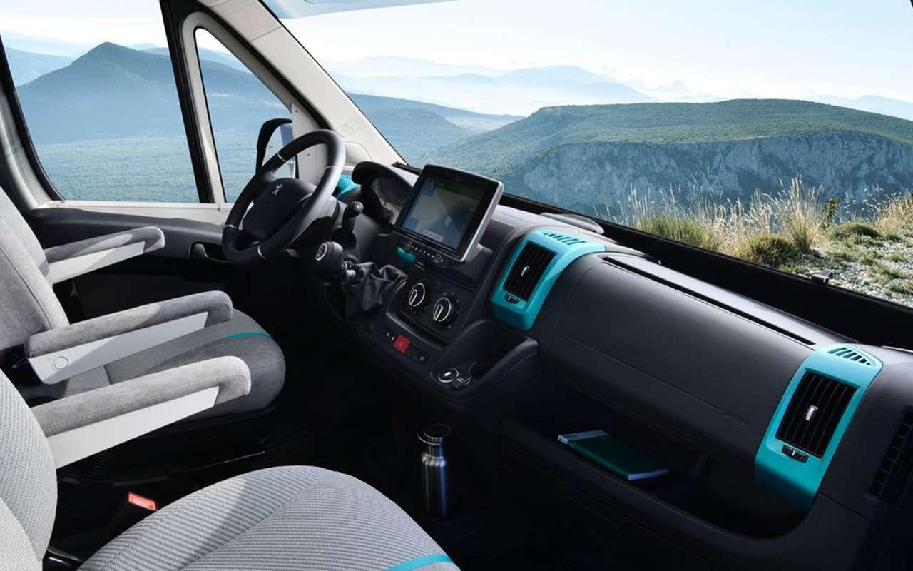 Автодом натроих: Peugeot Boxer вновом исполнении— фото 1055243