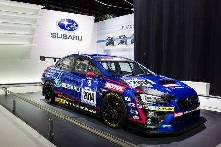Subaru представила развитие концепта кроссовера-гибрида Viziv 2и новую Subaru WRX STI