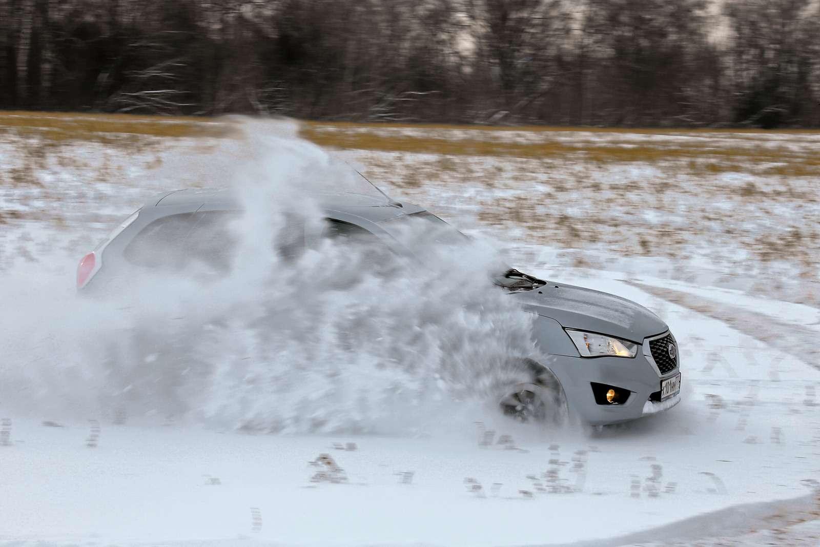 Большой зимний тест: Lada Vesta, Lada XRAY иDatsun mi-DO изпарка ЗР— фото 571444