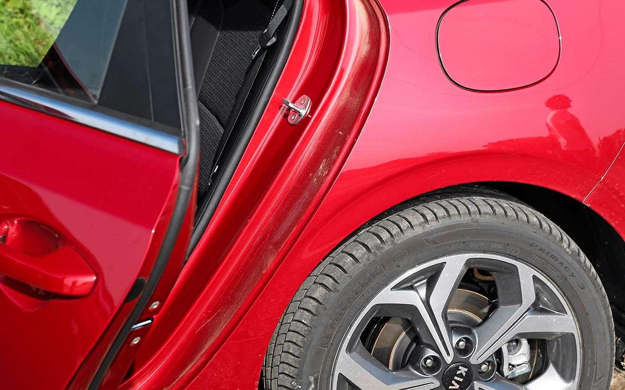 Новый Kia Ceed против лидеров гольф-класса: большой тест-драйв— фото 918614