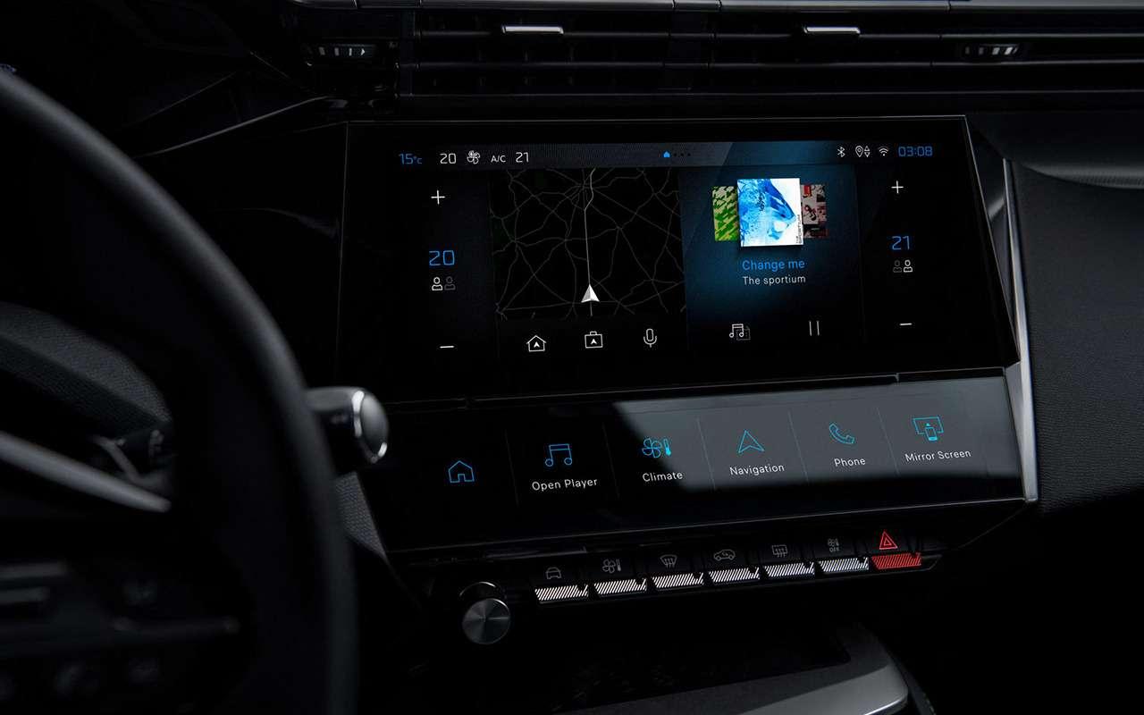 Новый Peugeot 308: с«клыками» ильвом нащите— фото 1231937