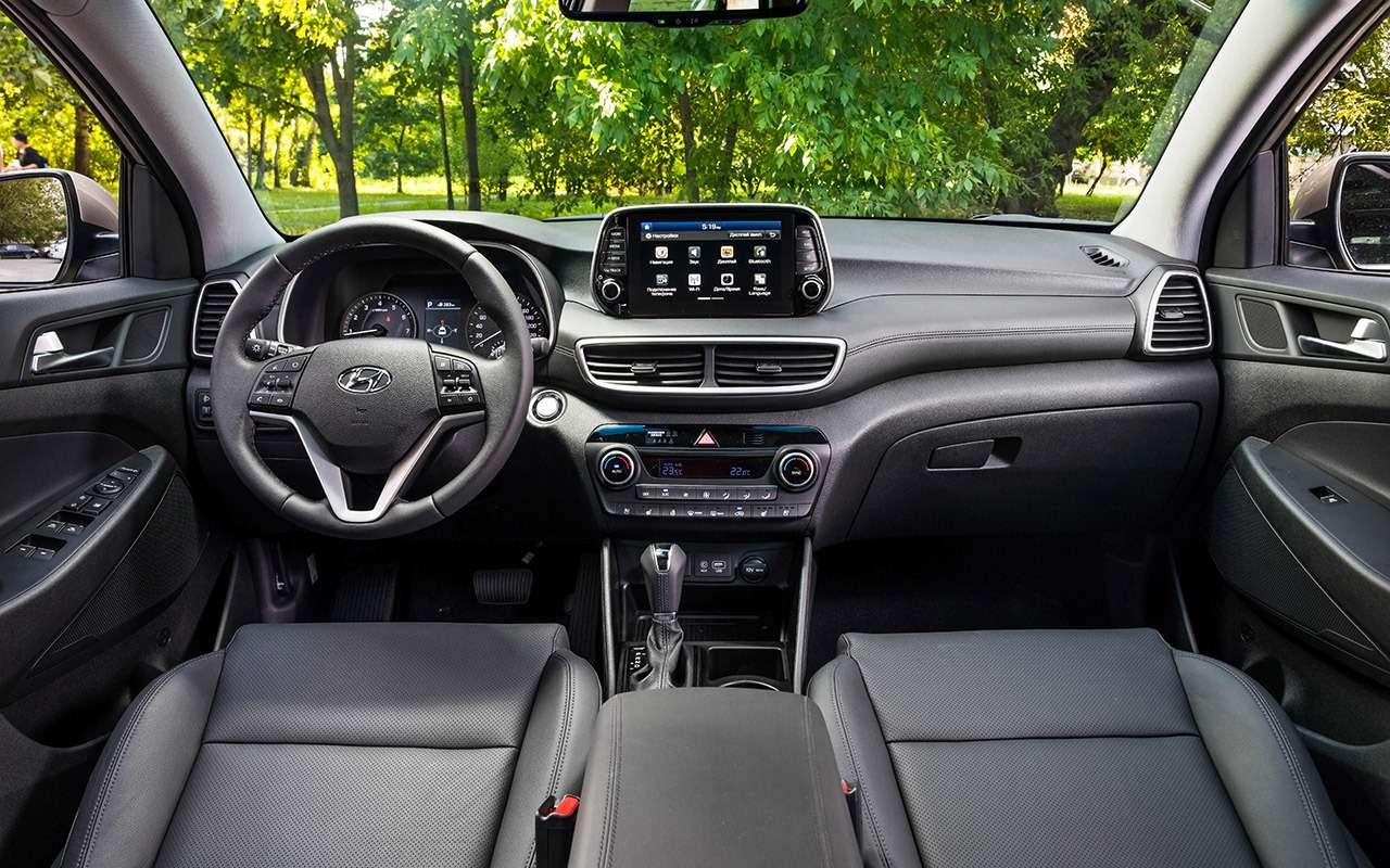 Тест-драйв обновленного Hyundai Tucson: новый автомат, цены прежние (нупочти)— фото 905728