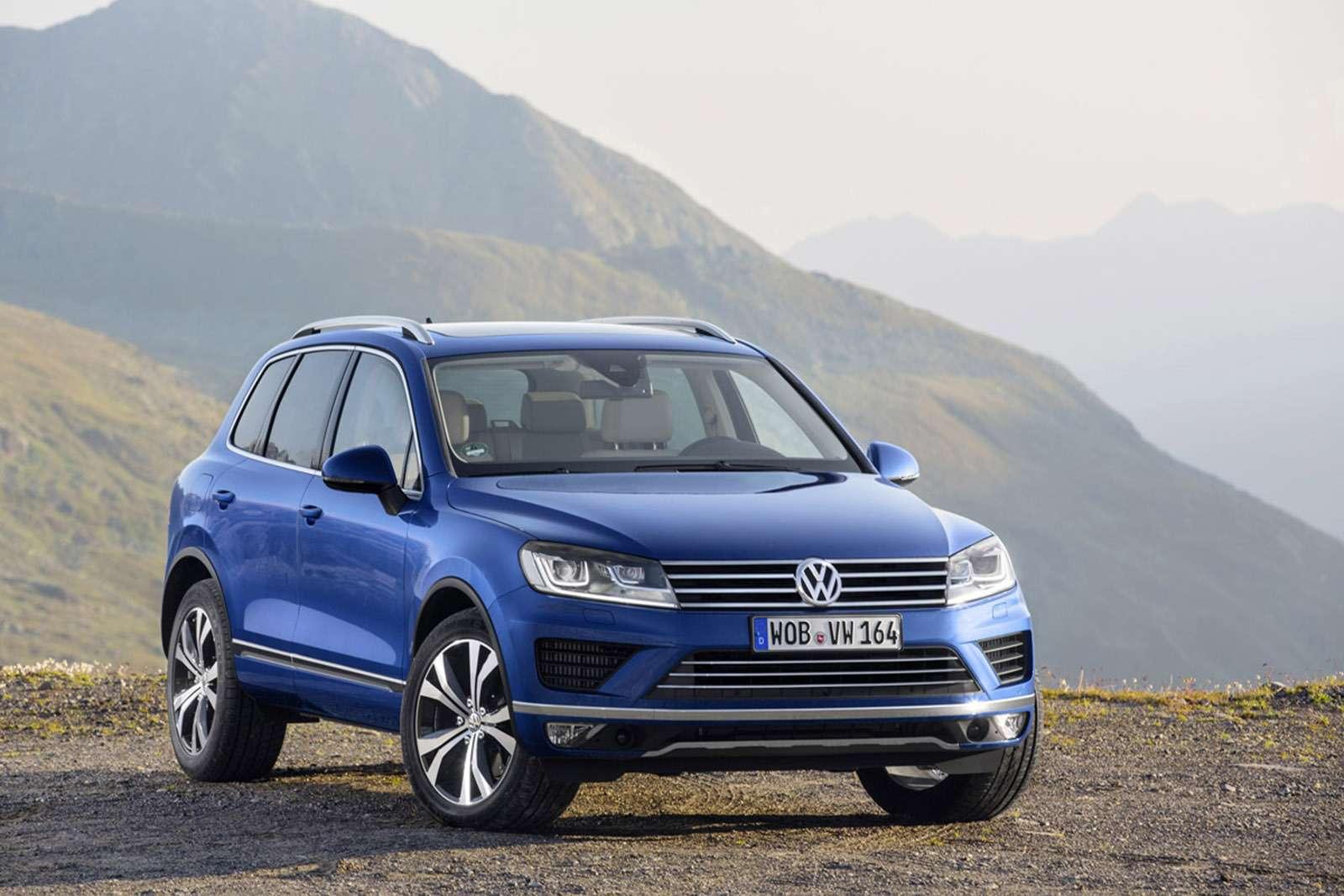 Derneue Volkswagen Touareg