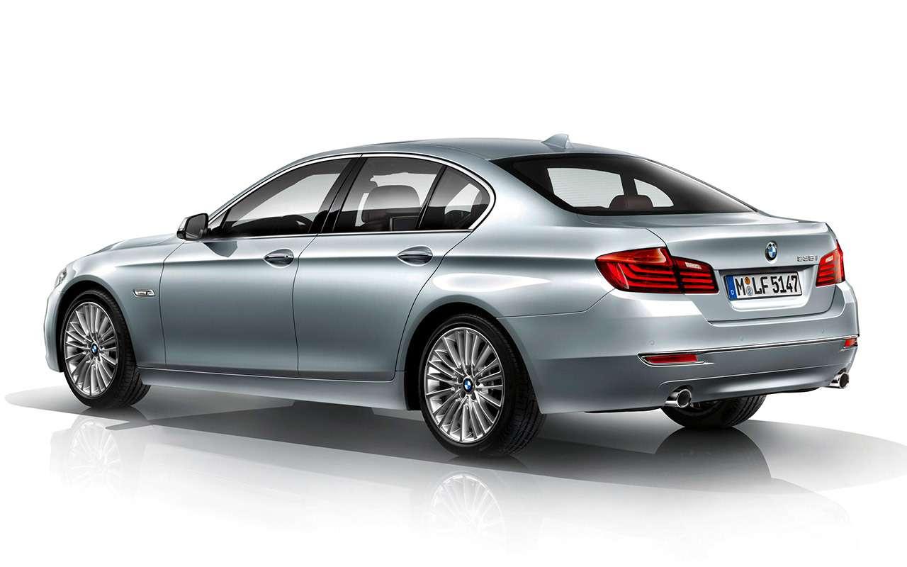 BMW5‑й серии (F10): полный список проблем— фото 1180707
