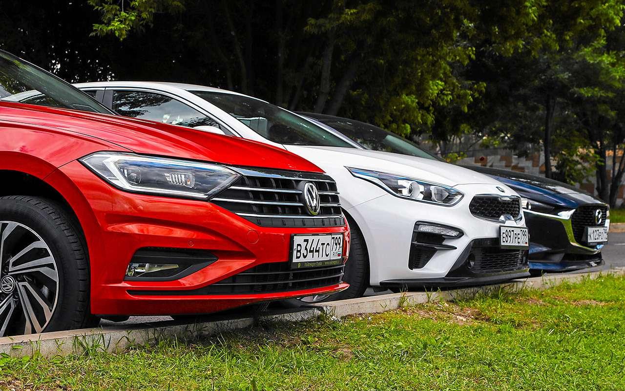 VWJetta, Kia Cerato, Mazda 3— тест-сравнение— фото 1156461