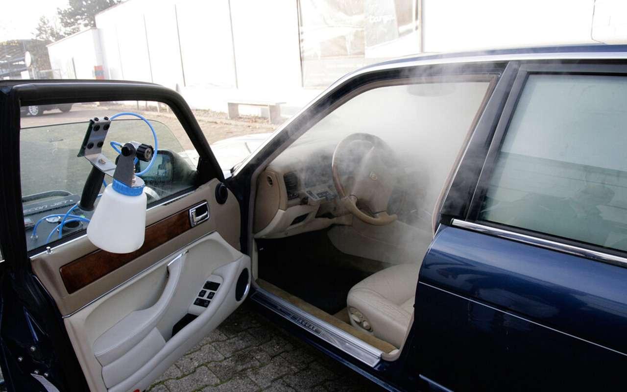 Изобрели «волшебный туман» дляавтомобиля— фото 1210073