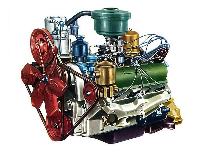 Двигатель ЗИЛ-508
