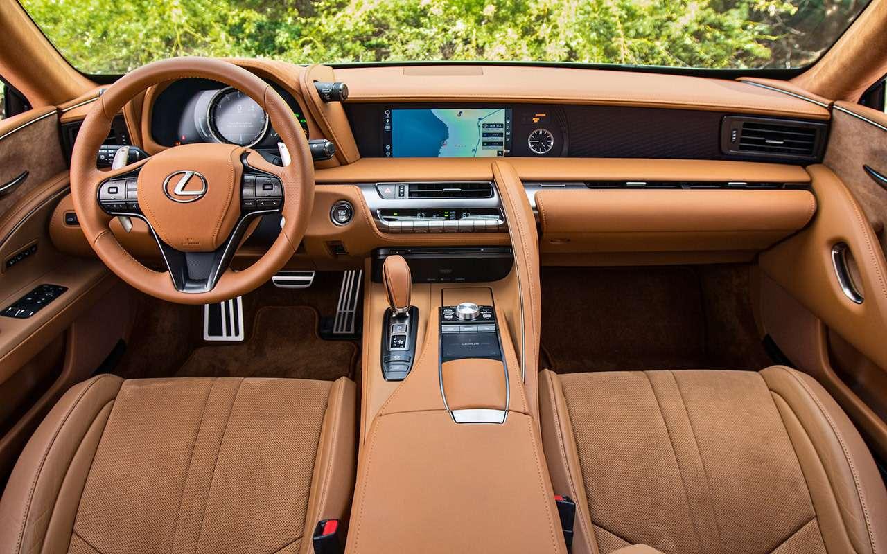 Lexus LC500— тест-драйв ЗР— фото 805886
