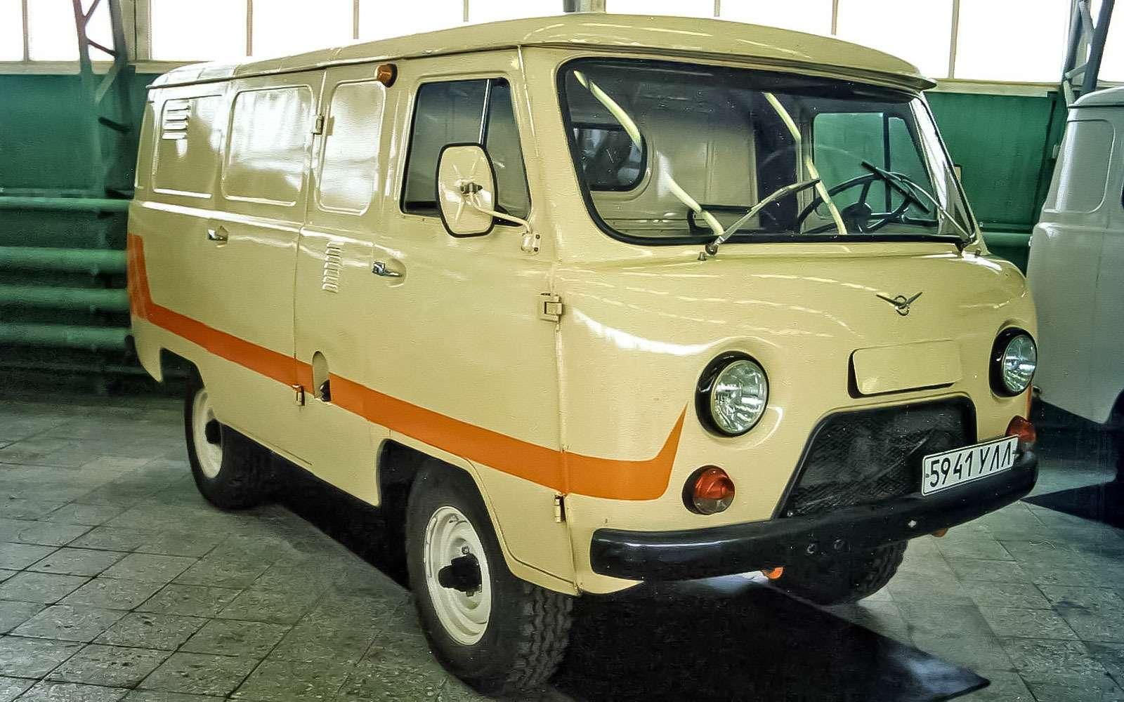 УАЗ-452, УАЗ-3741и УАЗ-3303