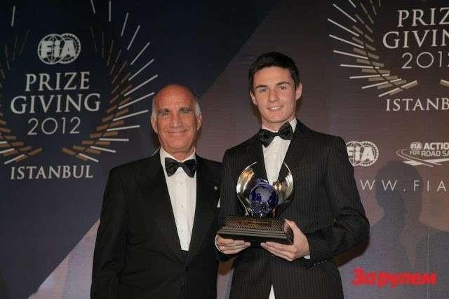 Чемпион FIA KF1 WORLD KARTING CHAMPIONSHIP
