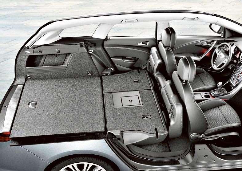 Opel Astra Sports Tourer, Interior, Trunk