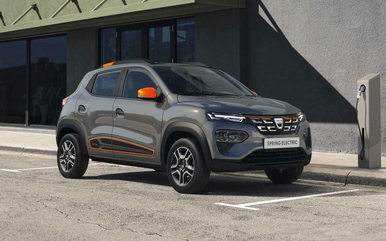 Renault показала мини-кроссовер Spring— фото 1231060