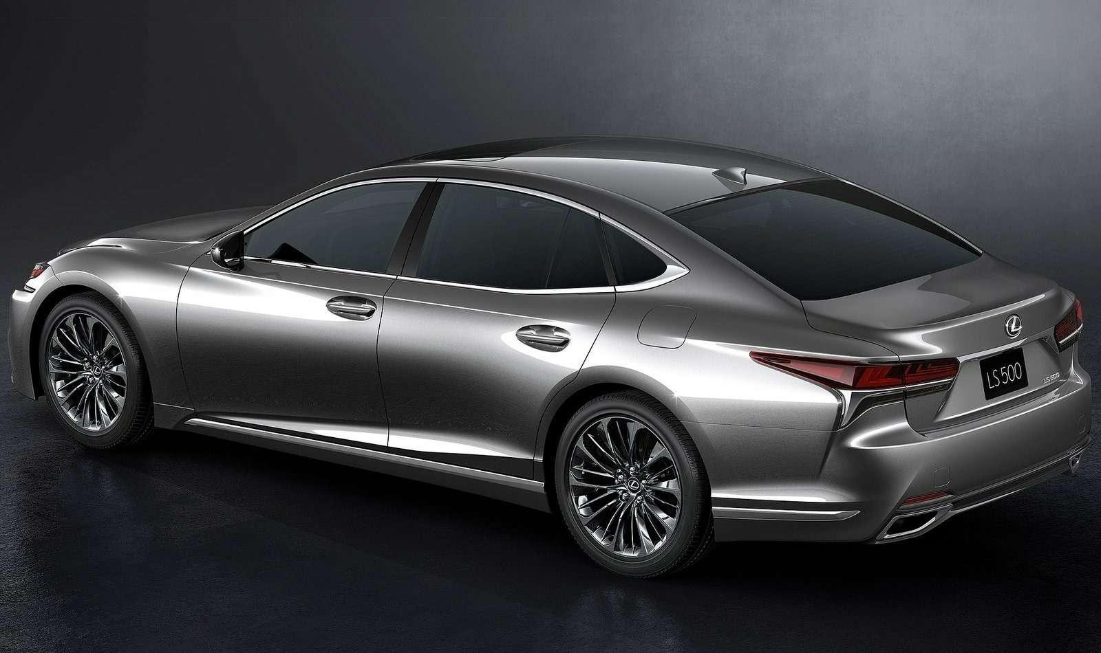 Новый Lexus LSполучил российский ценник— фото 822405