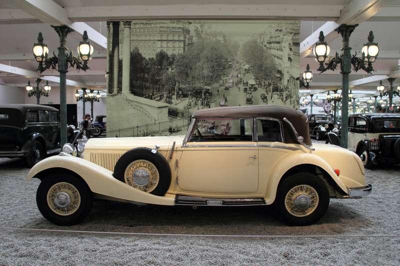Mercedes Benz W29540K 1936 1939(1936 cabriolet 2d)