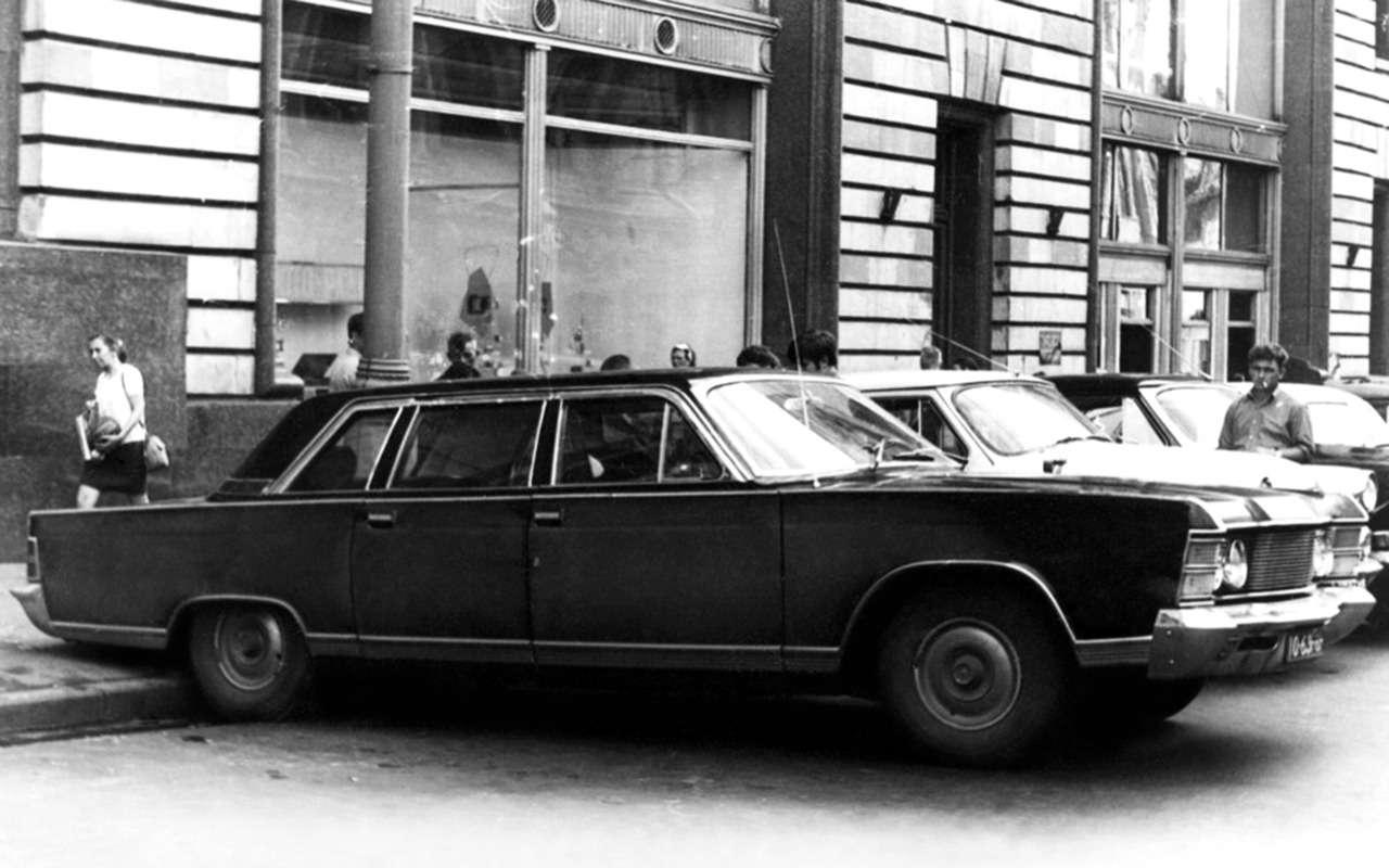 ГАЗ-13и ГАЗ-14, окоторых вынезнали— фото 834128