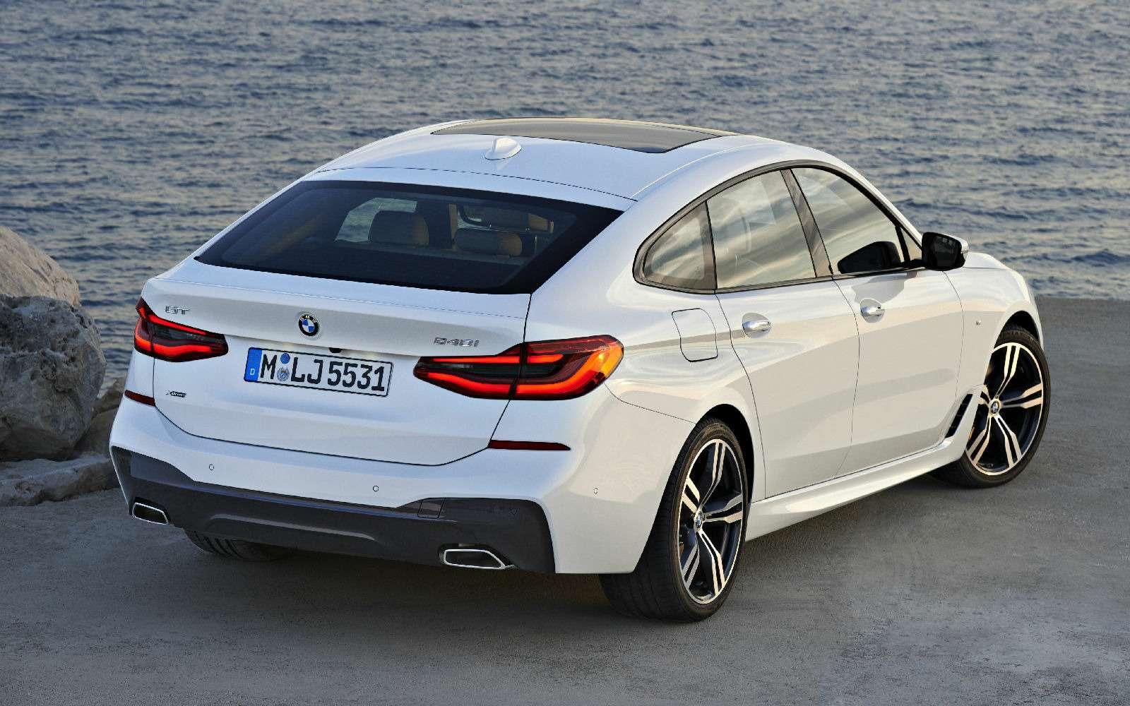 Новый лифтбек BMW 6-й серии Gran Turismo— лучше, чем «сарай»!— фото 764544