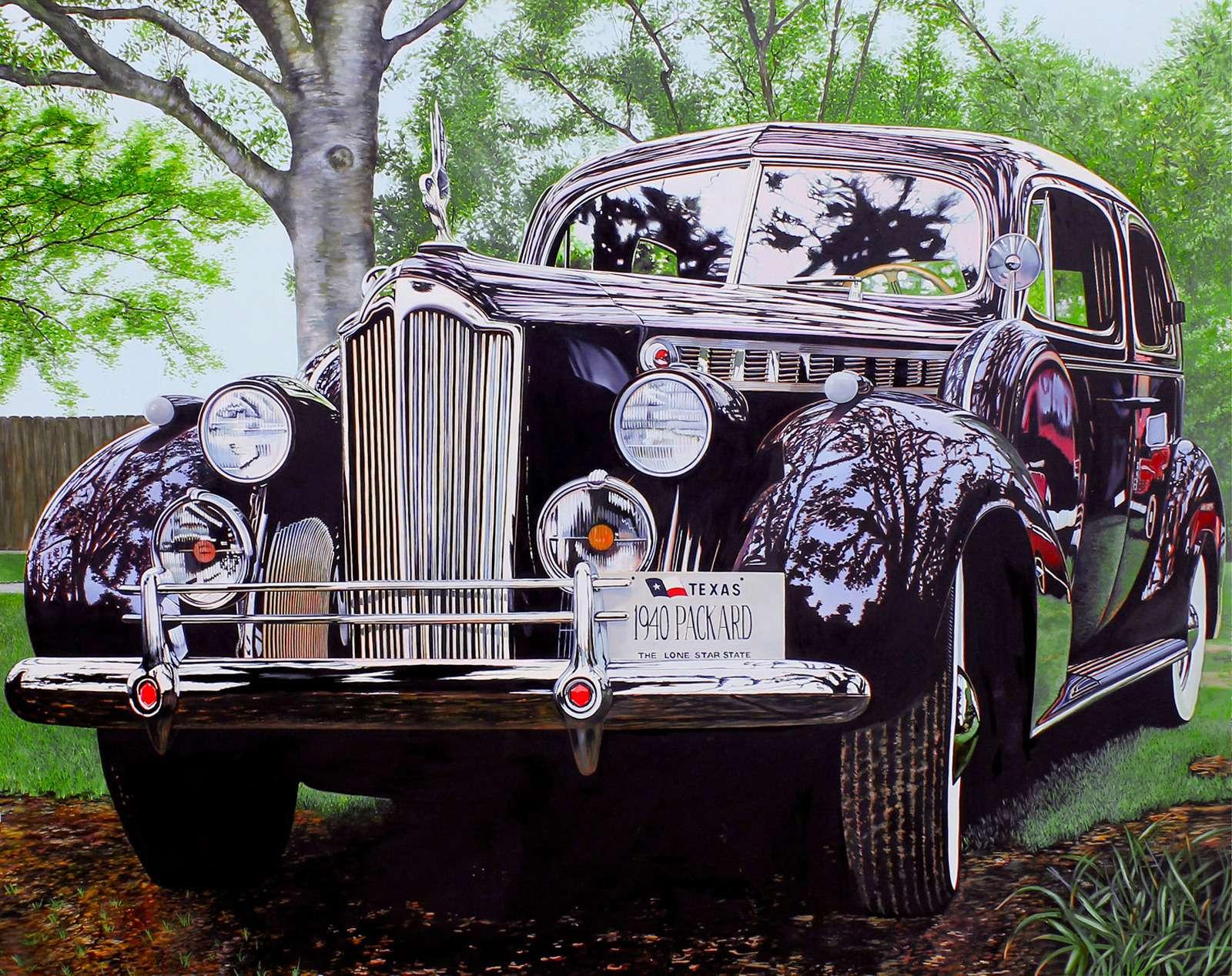 Машина маслом: автомобили вживописи— фото 610086