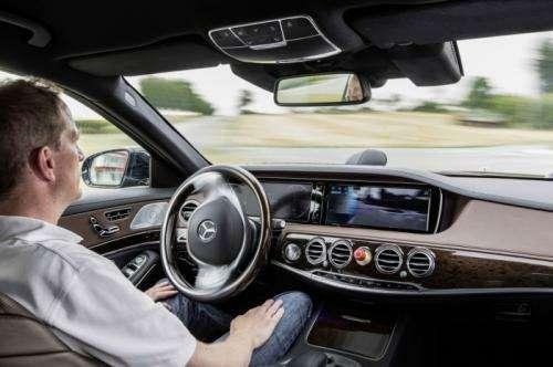 Mercedes S500 Intelligent Drive 5no copyright