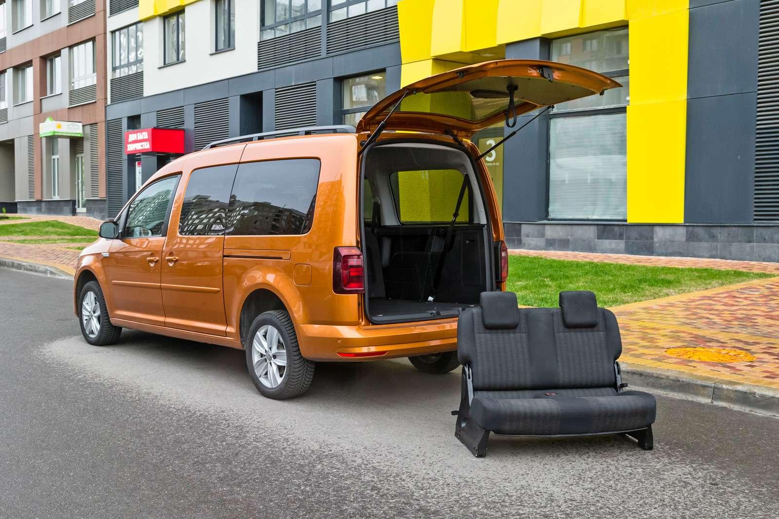Изящество или практичность? Citroen Grand C4Picasso против VWCaddy Maxi— фото 599147
