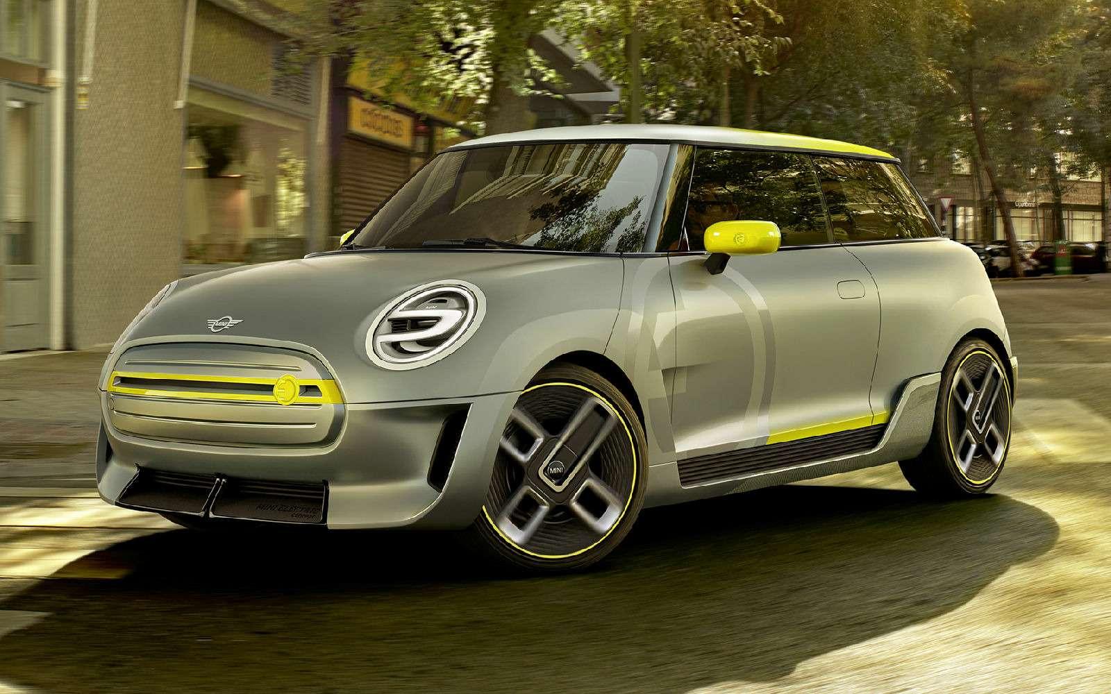 Вторая попытка: Mini анонсировала новый электромобиль— фото 789222