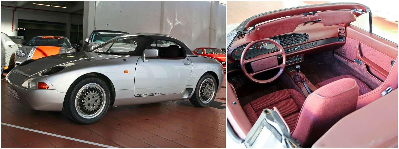 Секретный гараж Porsche: Лада Самара идругие— фото 700190