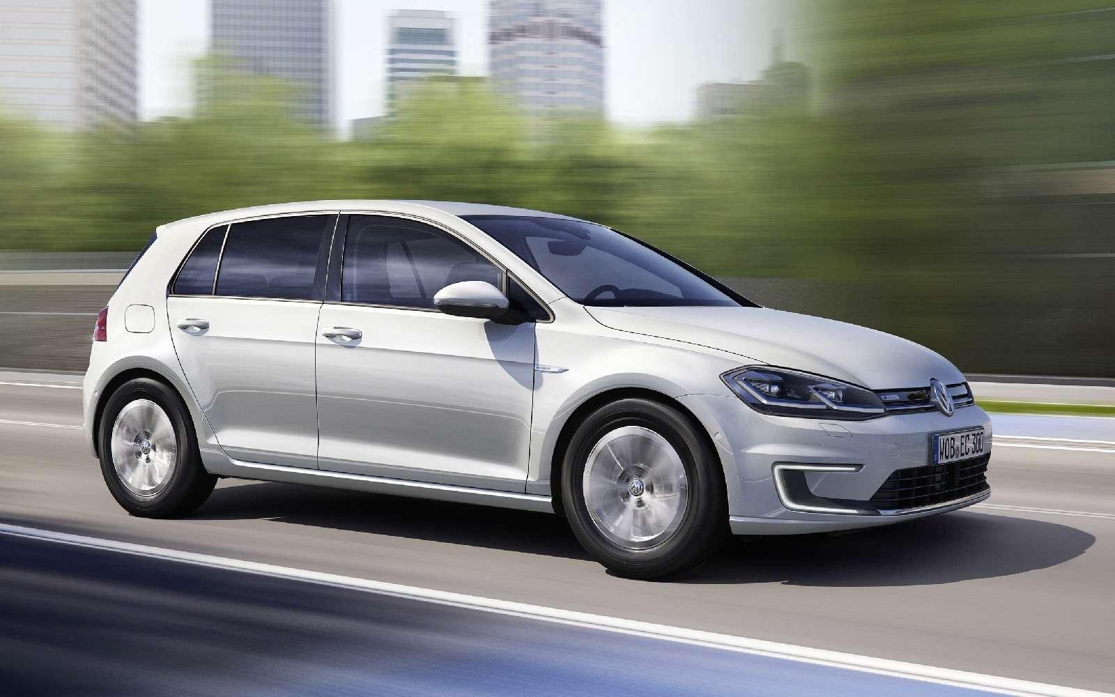 Озеленитель имиджа: Volkswagen обновил электромобиль e-Golf— фото 665348
