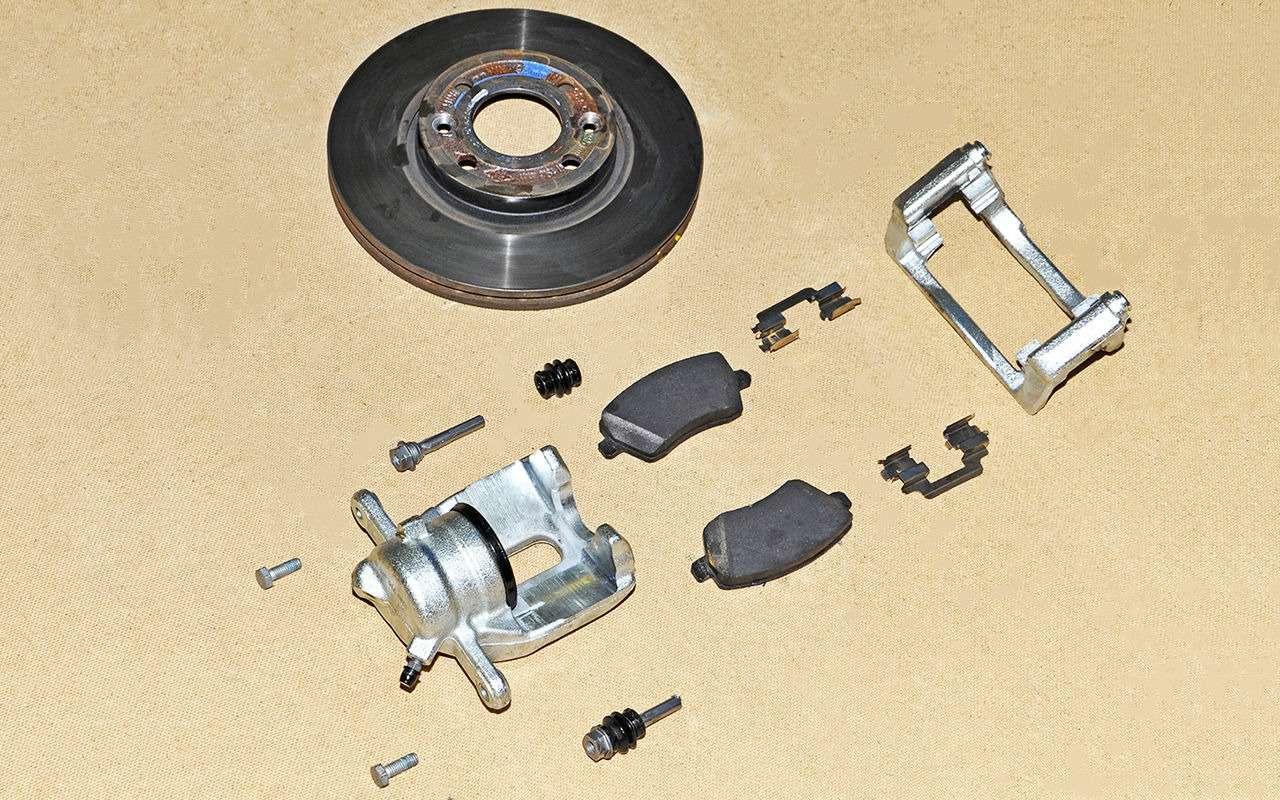 Какие тормоза лучше: барабанные или дисковые?— фото 841472