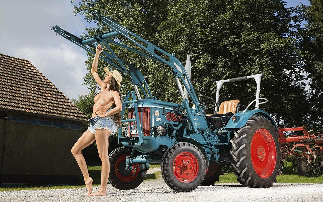 Девушки исельхозтехника: задорный календарь на2019год— фото 930419