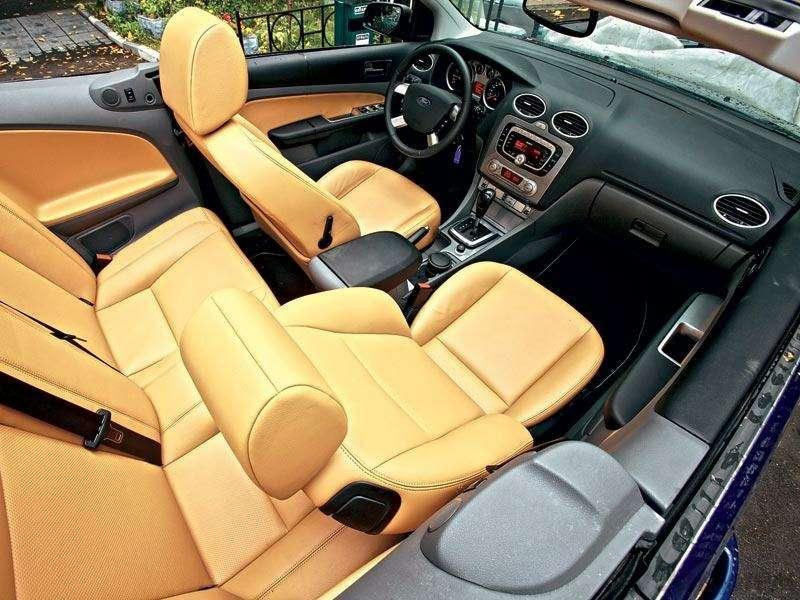 Наше знакомство Ford Focus Coupe-Cabriolet: Кабрио-балет— фото 91278