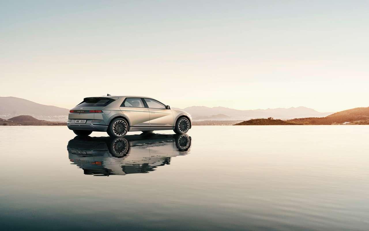 Hyundai Ioniq 5: мировая премьера кроссовера — фото 1225820