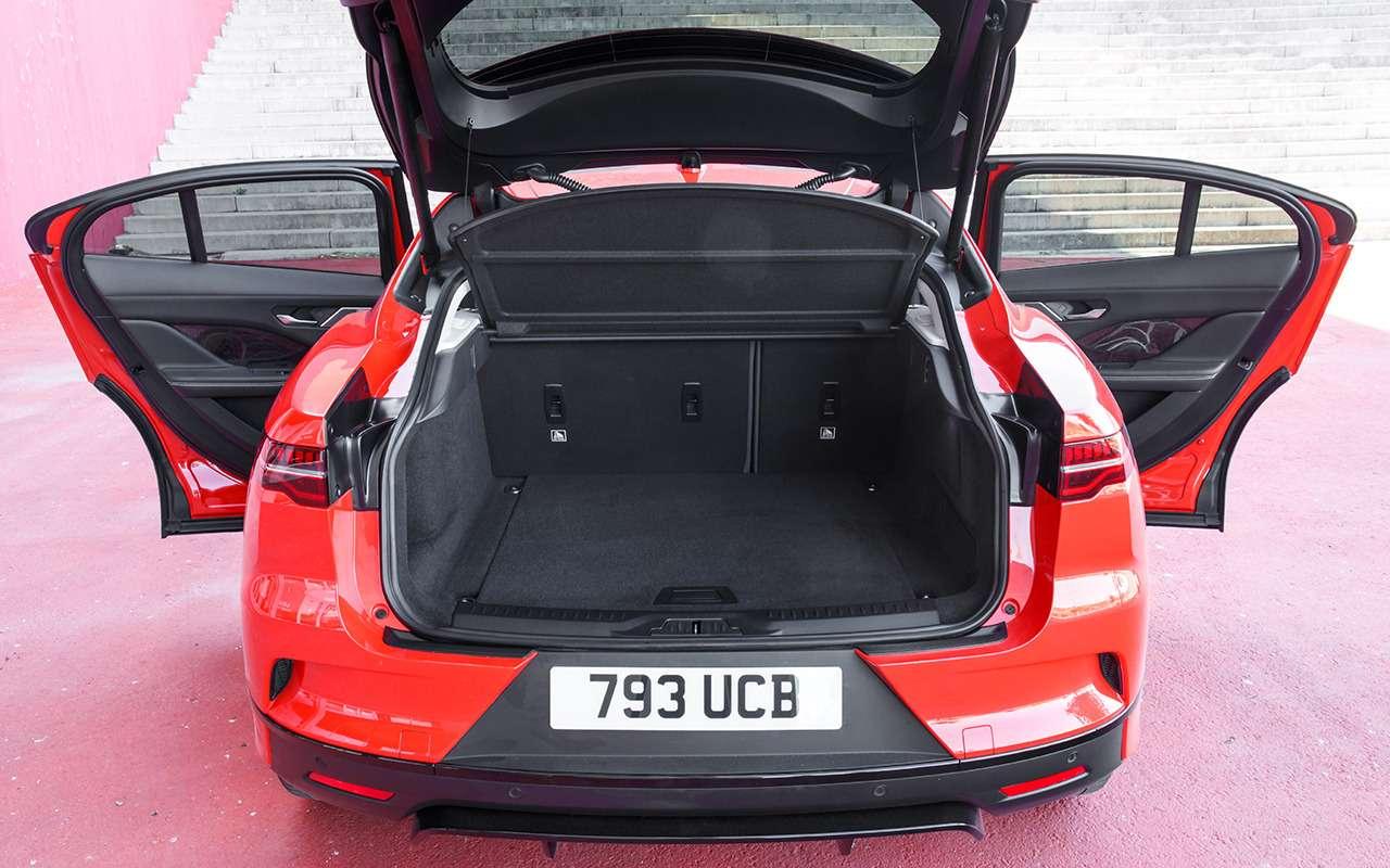 Jaguar I-Pace: никакого топлива, только электричество!— фото 876979