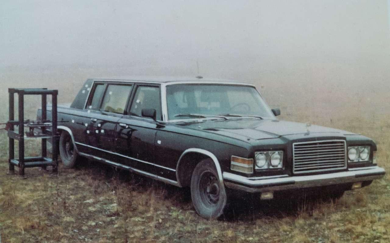 Бронированный лимузин Горбачева иЕльцина— как его строили— фото 1144857