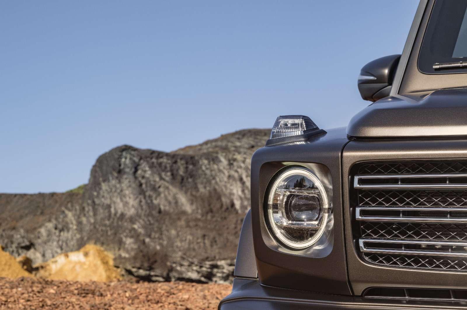Длинный нос: новый Mercedes-Benz G-класса представлен официально— фото 835949