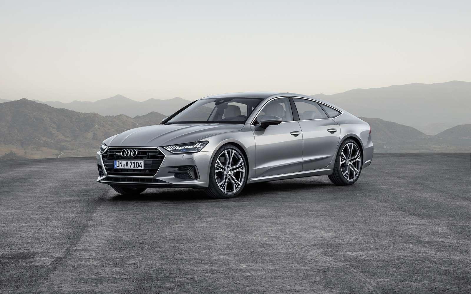 Новая Audi A7Sportback— вся насенсорах— фото 807150