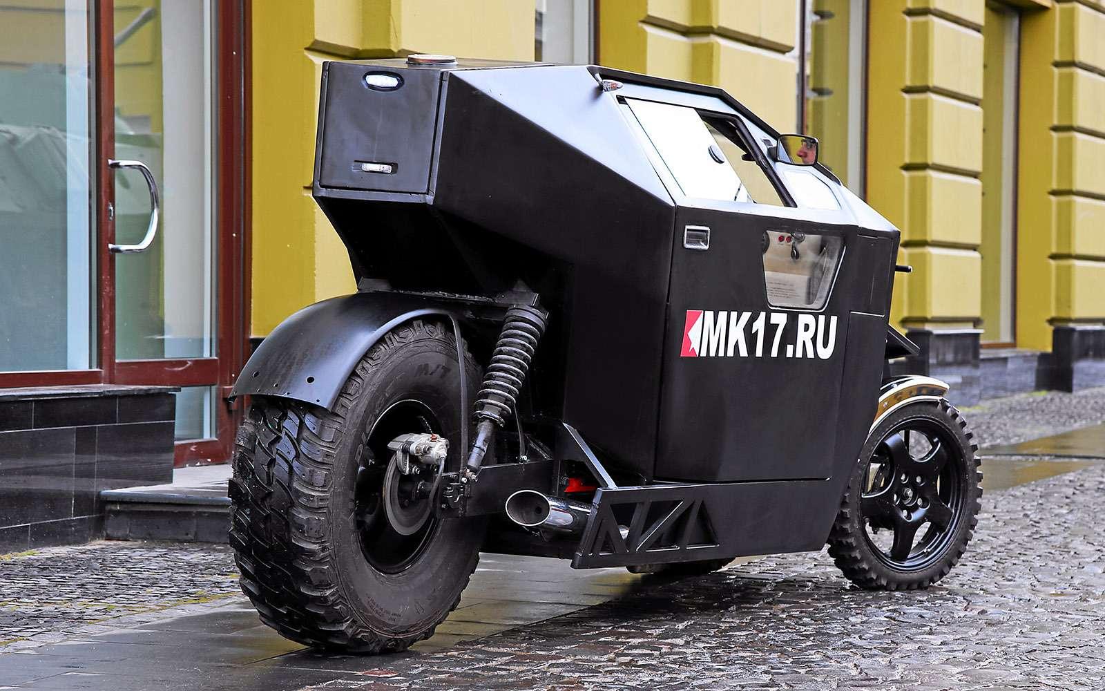 Трицикл МК-17: еще мотоцикл или уже автомобиль?— фото 680783