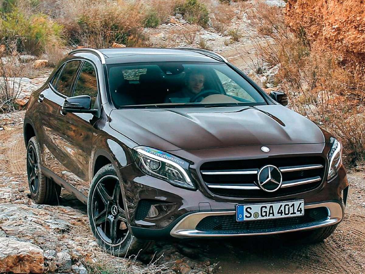 Mercedes-Benz GLA: песни A-GLAвном— фото 264649