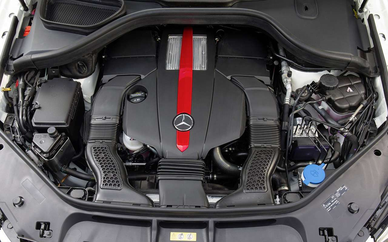 Mercedes-Benz GLE спробегом— все основные болячки— фото 1254133
