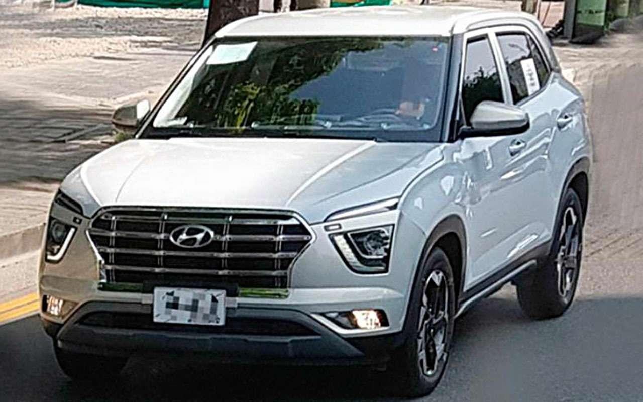 Hyundai Creta 2— новая порция фото— фото 989222
