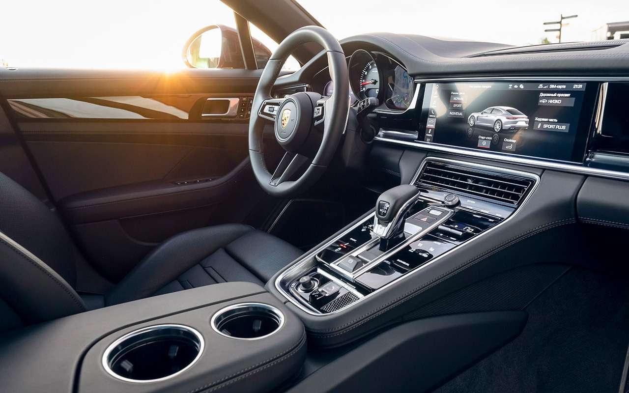Porsche Panamera 2021: хотели мощнее? Сделано!— фото 1260409