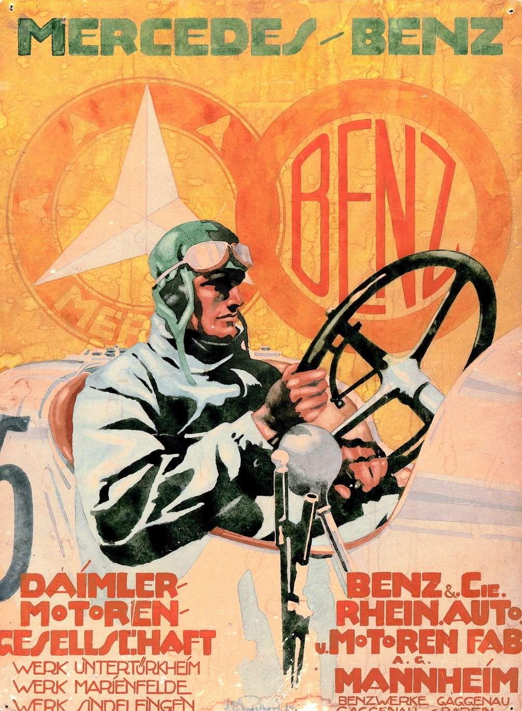 Известный германский плакатист Юлиус Юсси Энгельгард создал этот рекламный постер в1924 году.