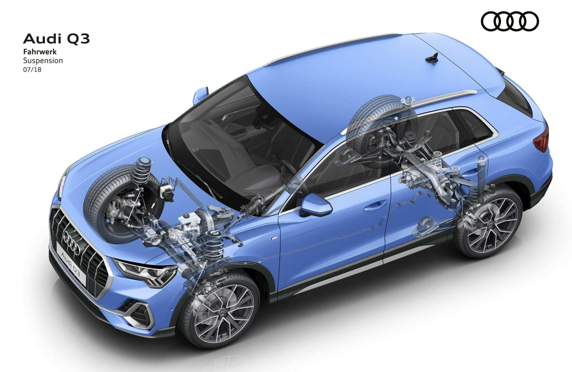 Новый Audi Q3: острые грани ицифровые приборы— фото 890064