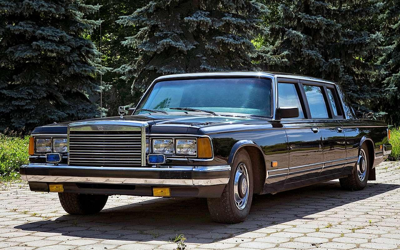 ЗИЛ-41052, 1989год