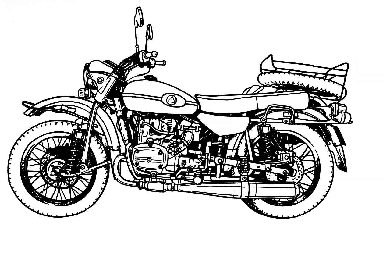 Новая версия мотоцикла Урал: еесделают вместе споклонниками— фото 1237300