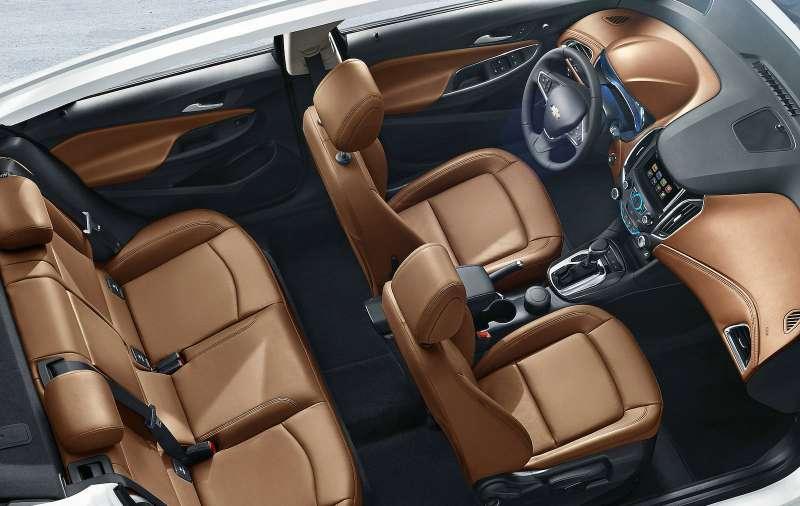 Interior photos ofthe new Chevrolet Cruze