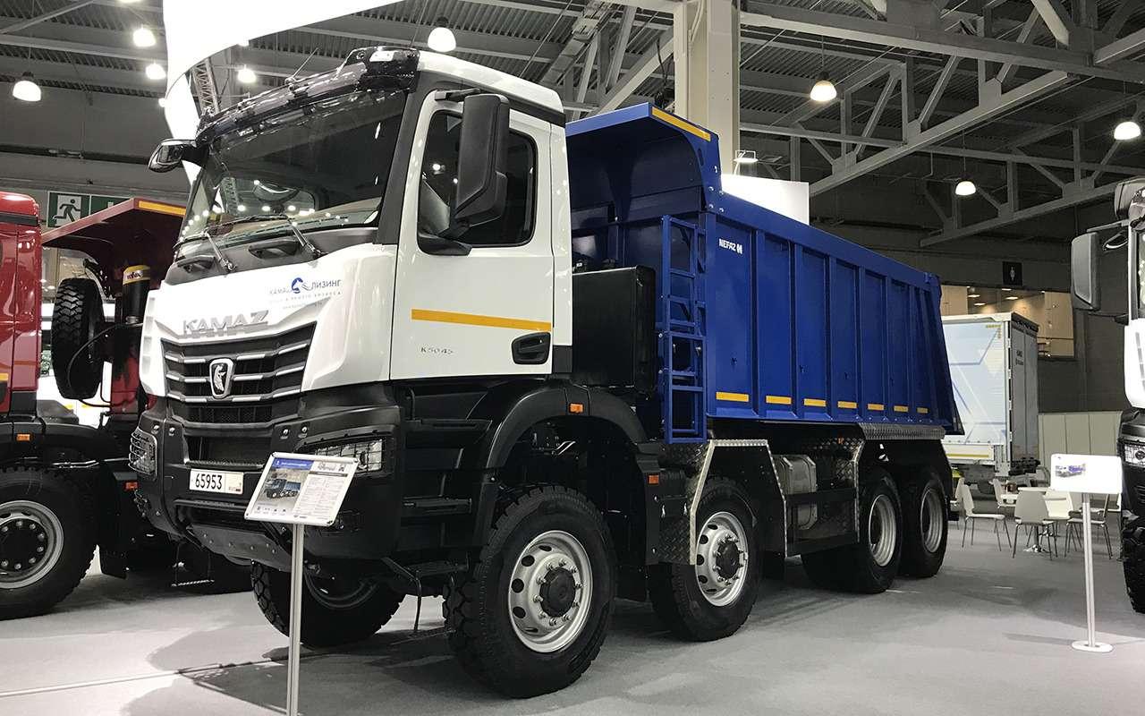 Всетяжелые грузовики наCOMTRANS 2021— фото 1276740