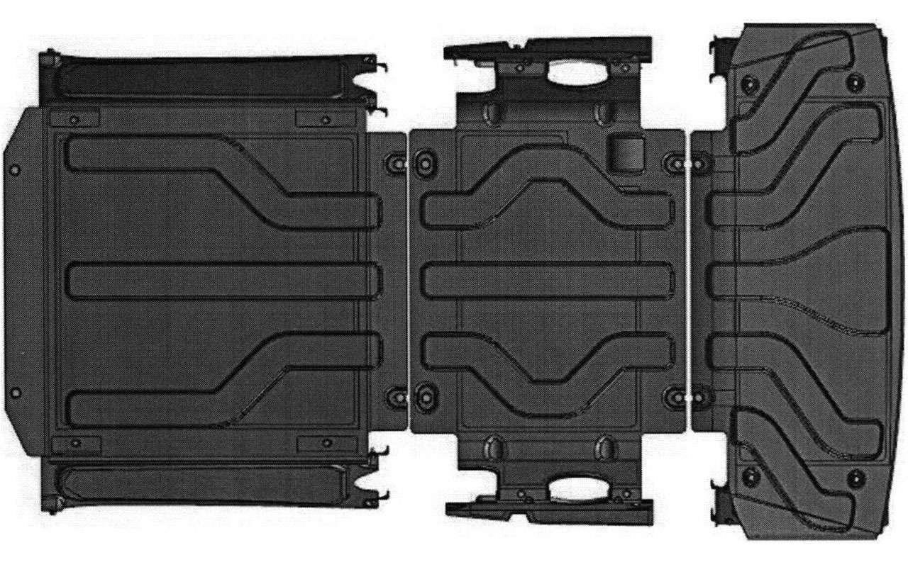 Новый УАЗ Патриот получит стальную защиту сшумоизоляцией— фото 1119779